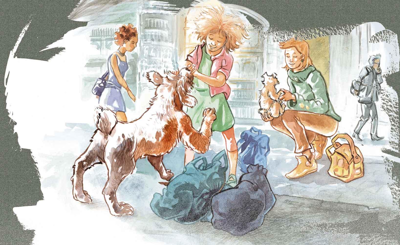 mes illustrations jeunesse publi u00e9es dans des livres